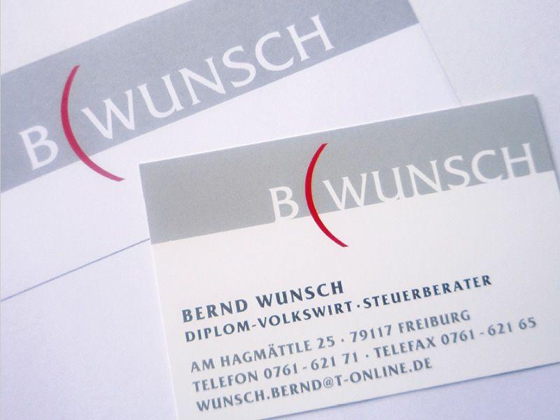 Briefpapier Visitenkarten Design Für Steuerberater Wunsch In